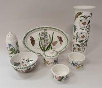 Nineteen pieces of various Portmeirion Botanic Garden wares including tall vase,