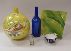 Five boxes of assorted china and glass to include Mason's etc,
