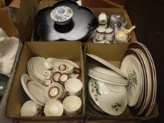 "A Wedgwood ""Mayfield"" part dinner service, Japanese hors d'oeuvres set,"