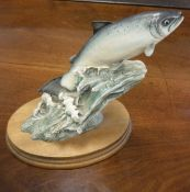 "A Border Fine Arts figure ""Salmon"" (140),"