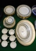 "A Minton ""Aragon"" pattern dinner service,"