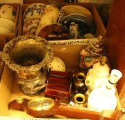 Two boxes of sundry china,