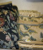 A box containing four fine needlepoint Chelsea Textile cushion covers,