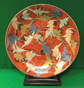 A 19th Century Japanese Meiji Period porcelain charger,