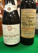 One bottle Clos des Menuts Saint-Emilion Grand Cru,