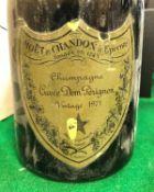 One bottle Dom Pérignon Vintage Champagne 1971