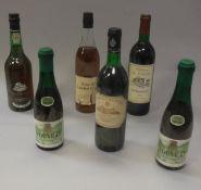 One bottle Château de Fonbel Saint-Emilion Grand Cru 1990, one bottle Port Don Pablo fine white,