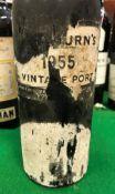 One bottle Cockburn's Vintage Port 1955