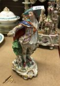 A 19th Century Continental porcelain fig
