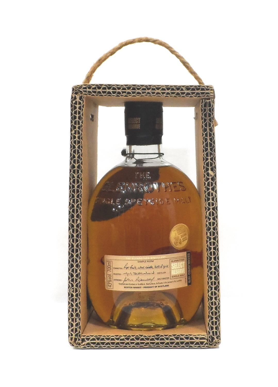 Lot 38 - GLENROTHES SELECT RESERVE A bottle of the Glenrothes Select Reserve Single Malt Scotch Whisky. 70cl.