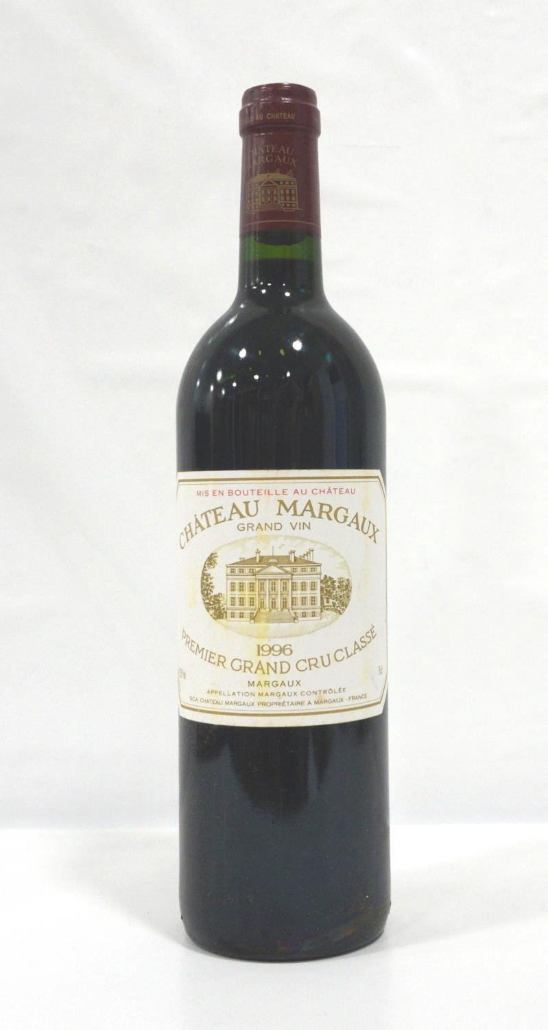 Lot 44 - CHATEAU MARGAUX 1996 One of the great names of Bordeaux and one of the great vintages of the last