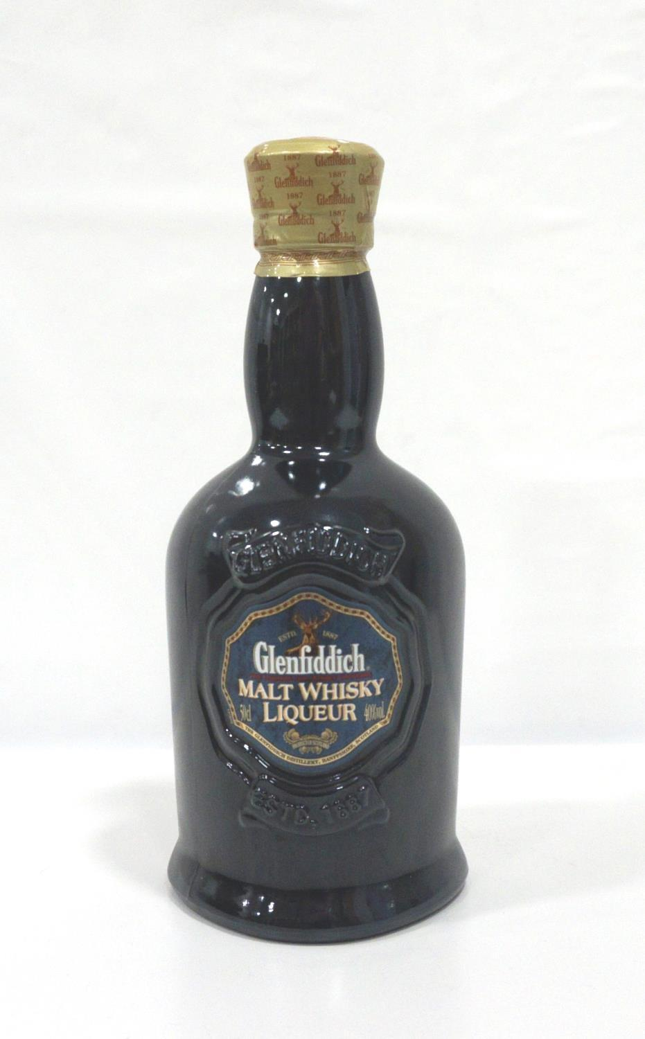 Lot 32 - GLENFIDDICH MALT WHISKY LIQUEUR A highly sought after and long discontinued bottle of the