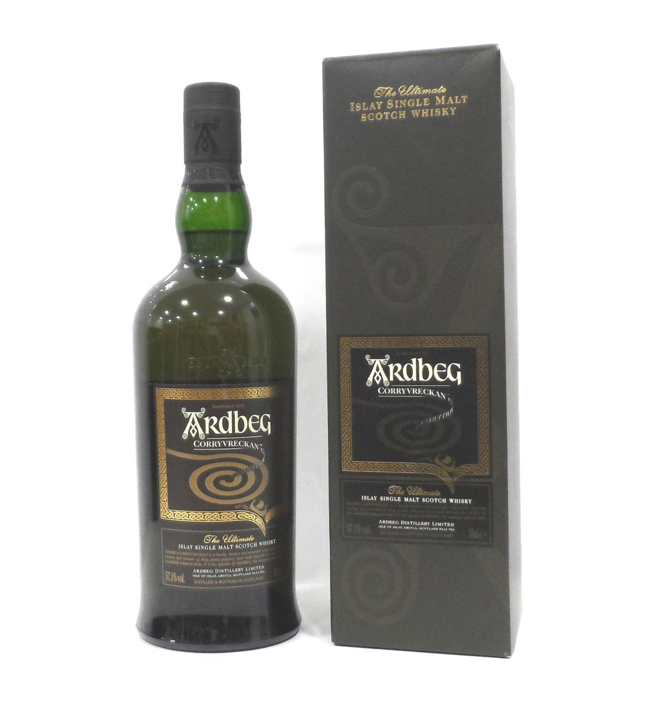 Lot 22 - ARDBEG CORRYVRECKAN Ardbeg used to do fantastic animations and short films to celebrate new releases