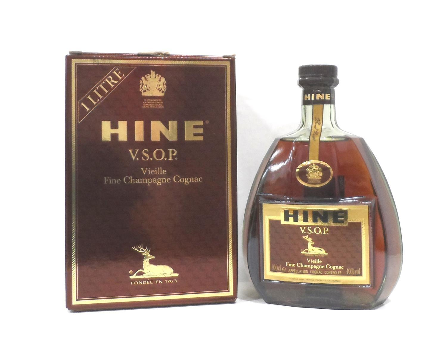 Lot 53 - HINE V.S.O.P. VIEILLE FINE CHAMPAGNE COGNAC A bottle of the illustrious Hine V.S.O.P. Vielle Fine