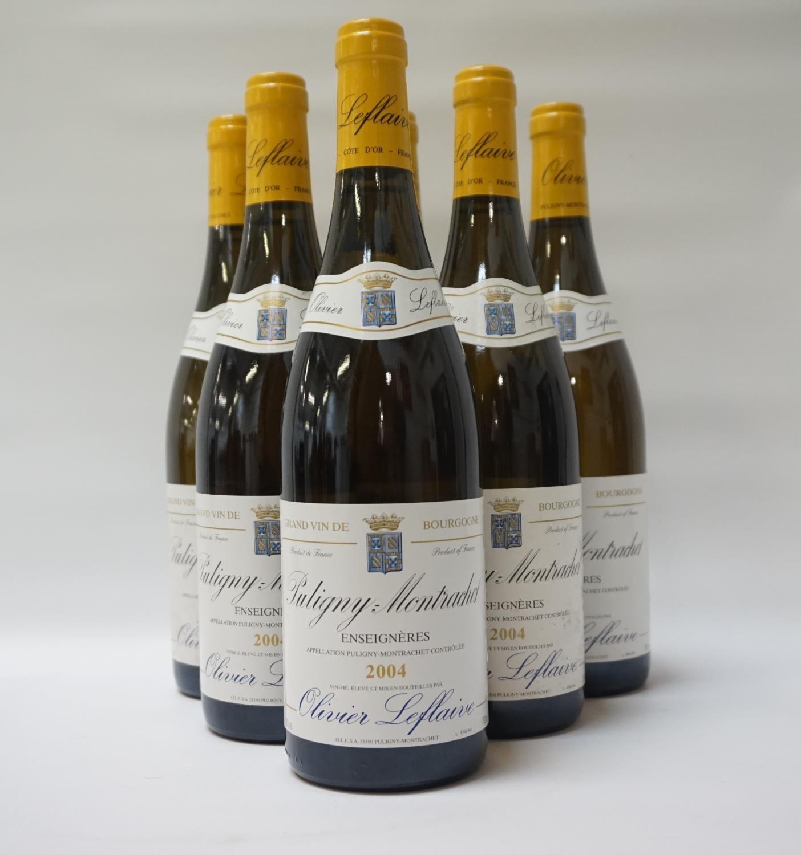 "Lot 50 - OLIVIER LEFLAIVE PULIGNY-MONTRACHET ""ENSEIGNERES"" 2004 A Grand Vin de Bourgogne this is a"