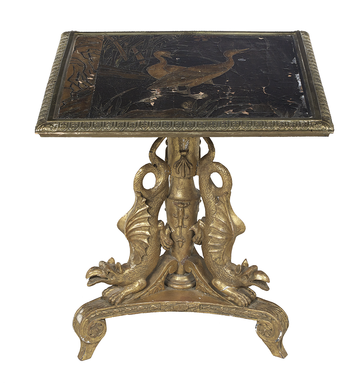 Lot 992 - Meiji-Style Lacquered Occasional Table