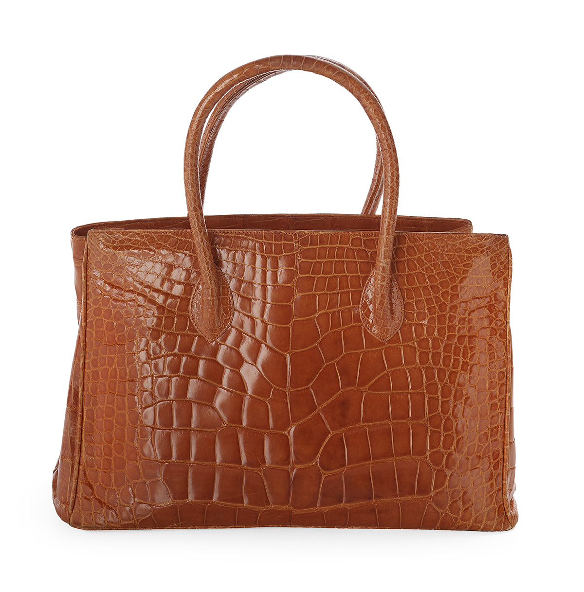 "Lot 599 - Alexandra Knight Alligator ""Taylor"" Tote"