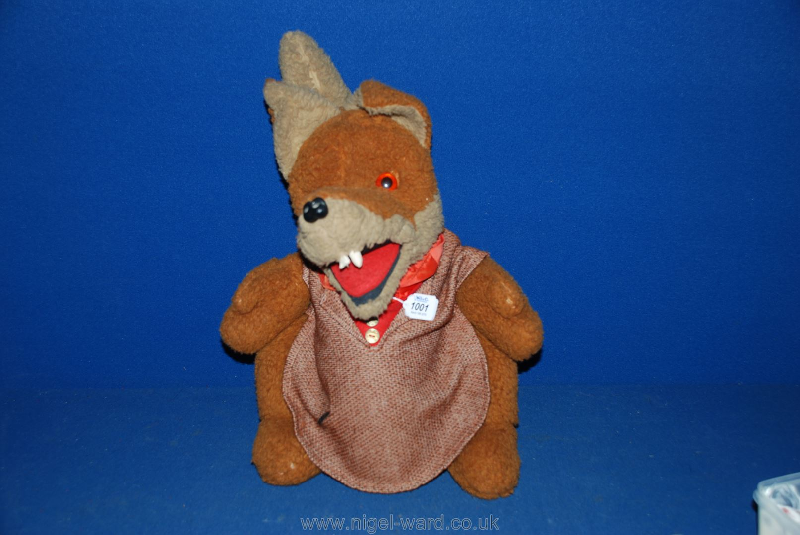 Lot 1001 - A Basil Brush glove puppet.