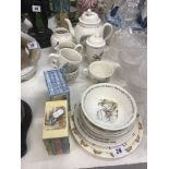 A quantity of Wedgewood Beatrix Potter china