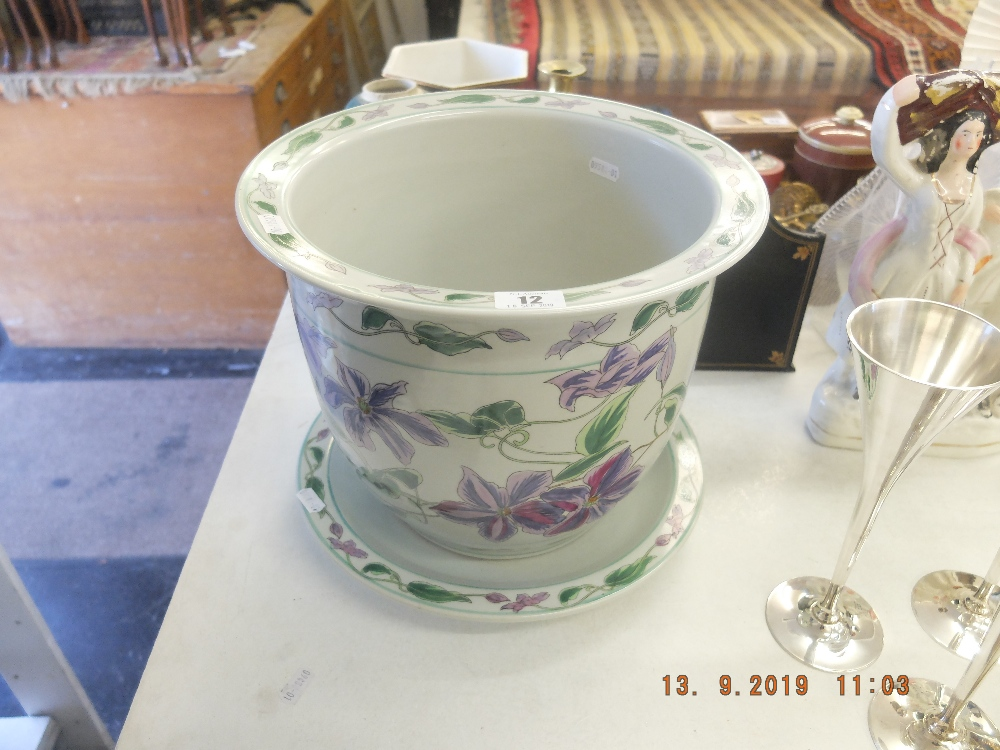 Lot 12 - A decorative planter