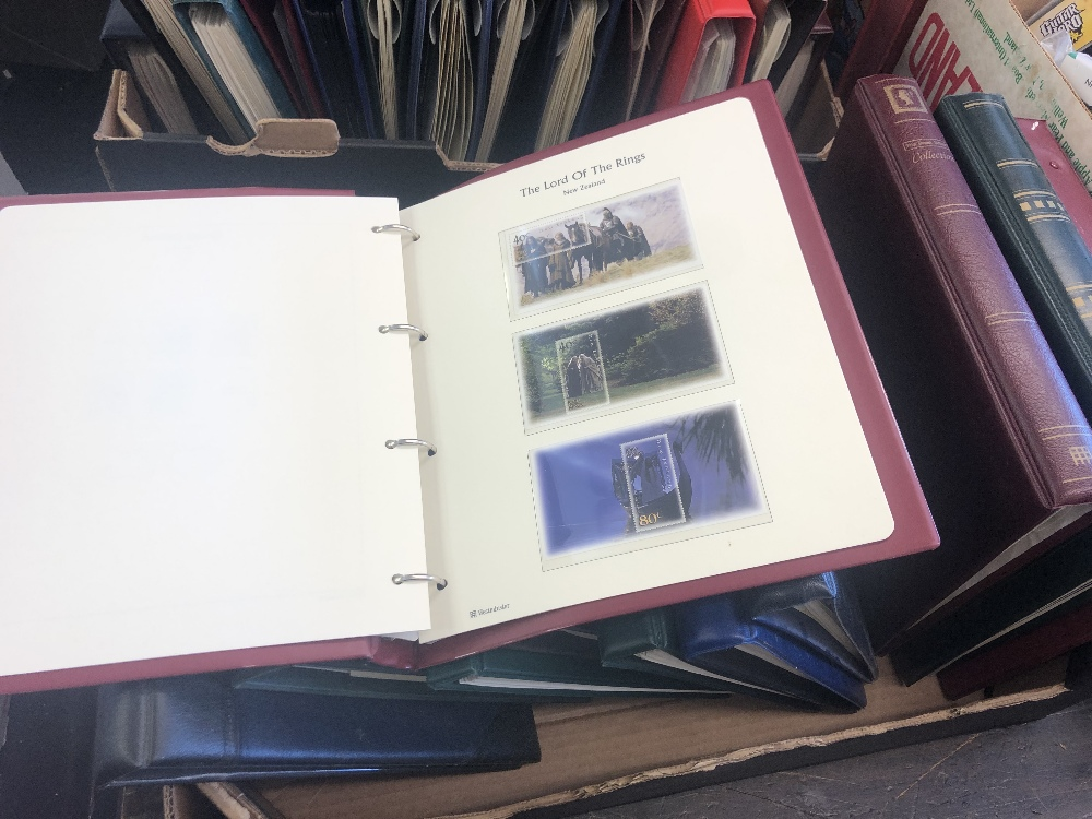 Lot 128 - A substantial quantity of albums of stamps and first day covers
