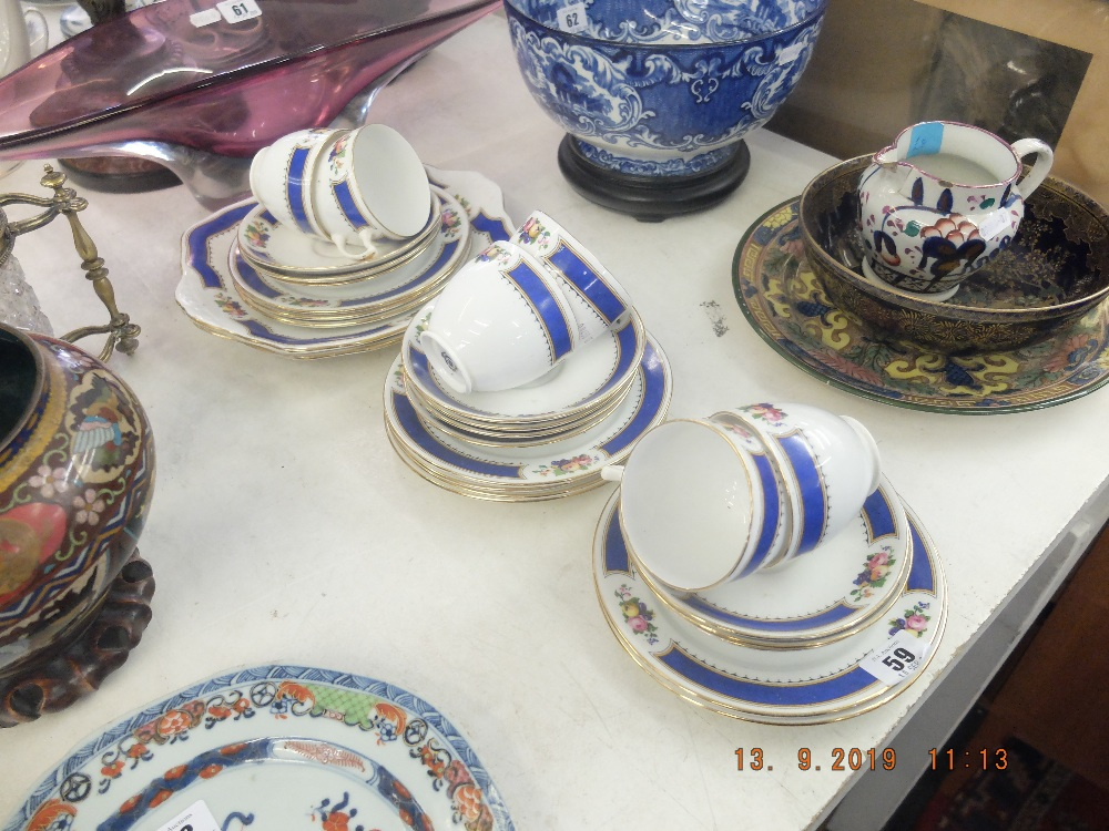 Lot 59 - A Royal Albert part tea set