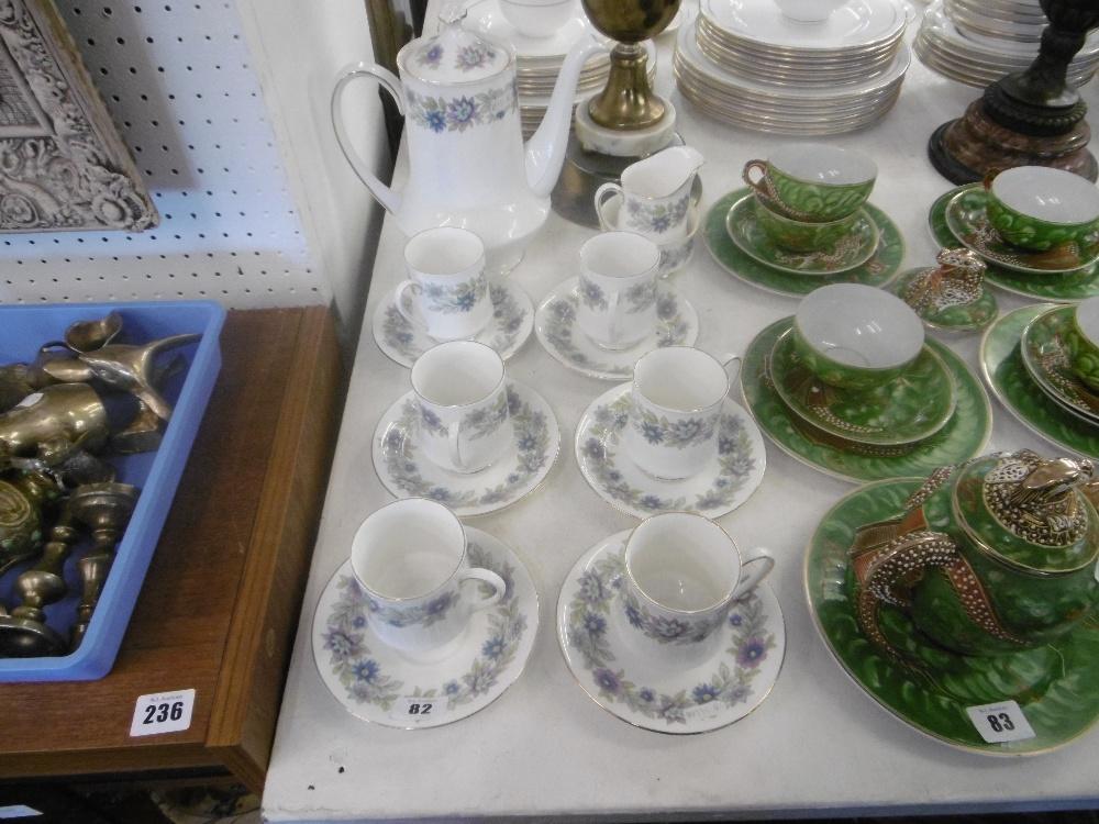 Lot 115 - A Paragon coffee set
