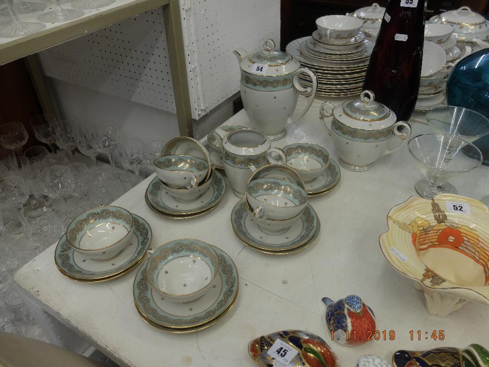 Lot 54 - A Limoges tea set