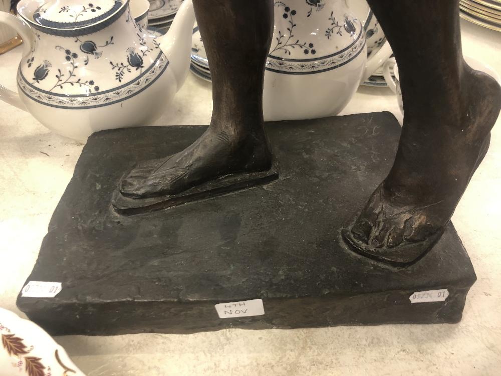 """Lot 50 - A bronze sculpture """"Horseplay"""" 1988 artist John Clinch 1934-2001."""