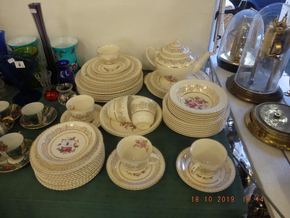 Lot 2 - A Johnson Brothers tea set