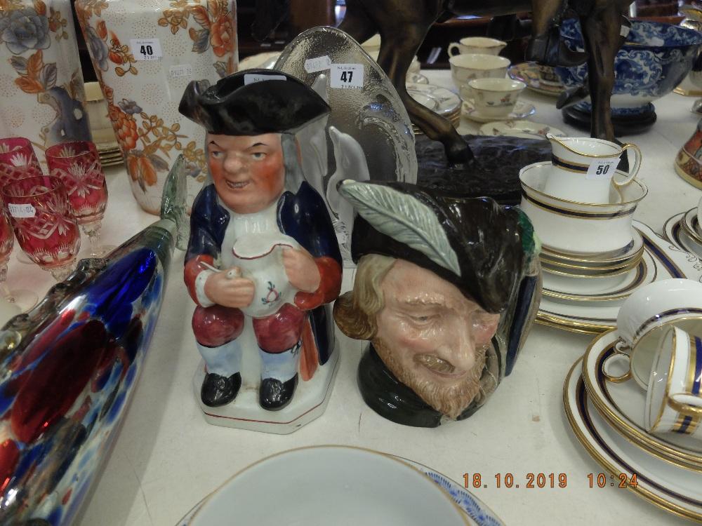 Lot 48 - A Victorian Toby jug and Royal Doulton Robin Hood character jug