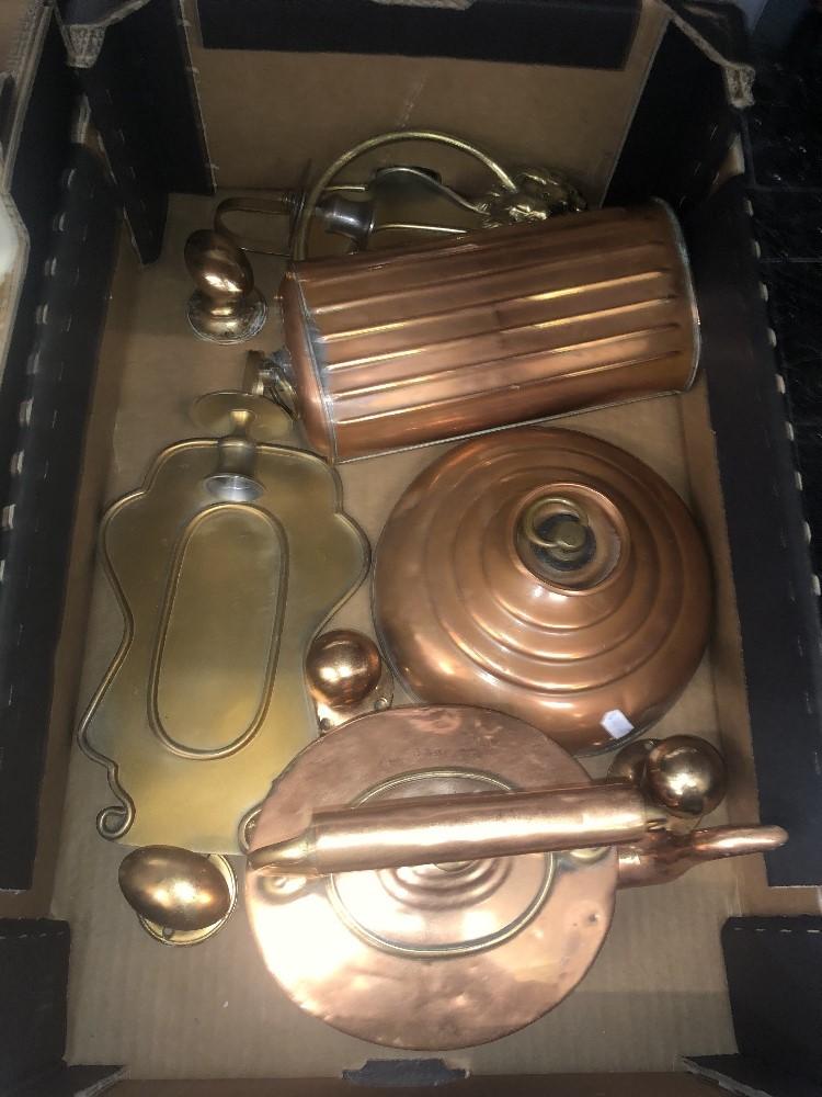 Lot 40 - A quantity of copper items