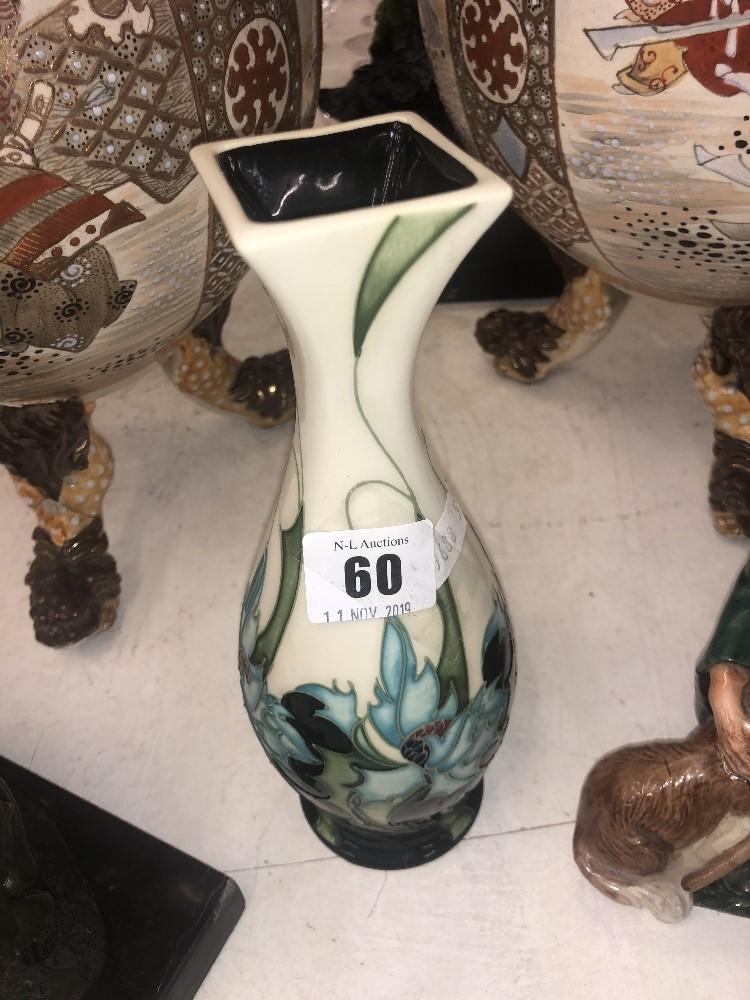 Lot 60 - An Emma Bossons Moorcroft posy vase