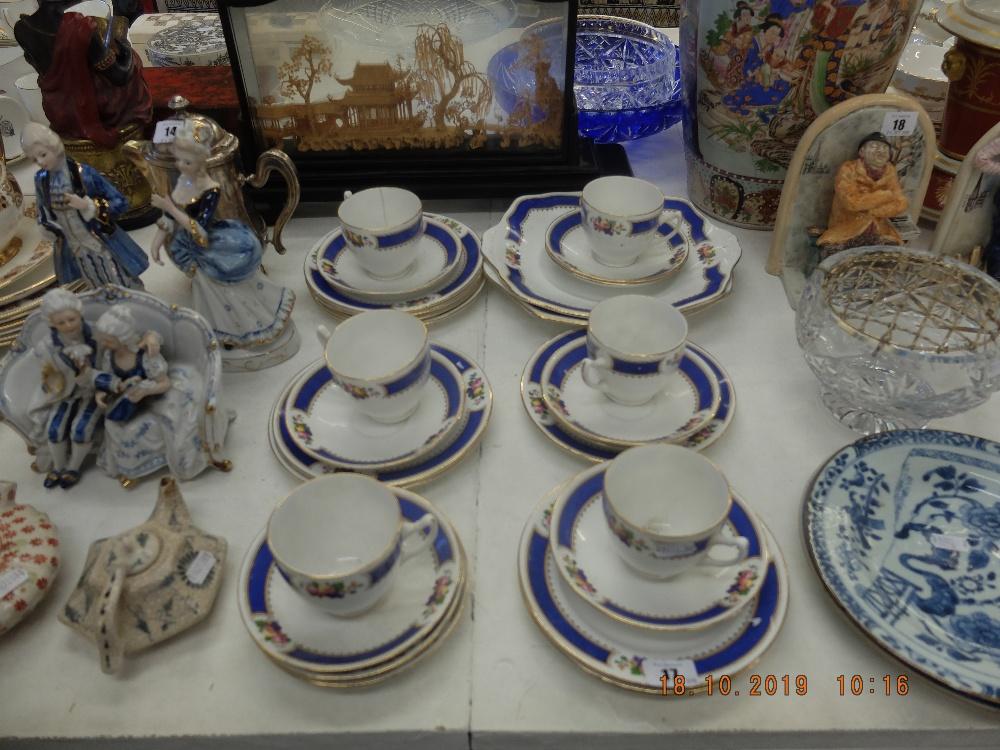 Lot 20 - A Royal Albert part tea set