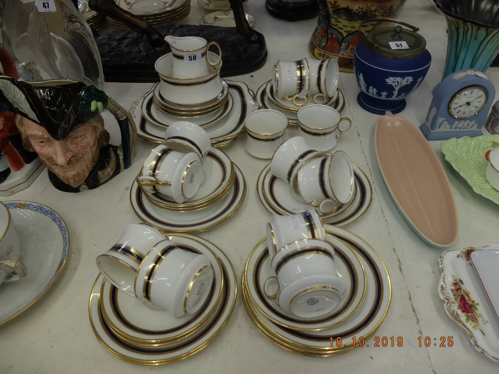 Lot 29 - A Royal Albert tea set