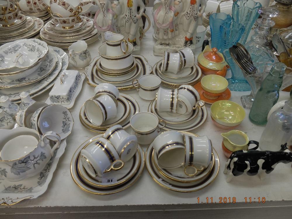 Lot 38 - A Royal Albert tea set