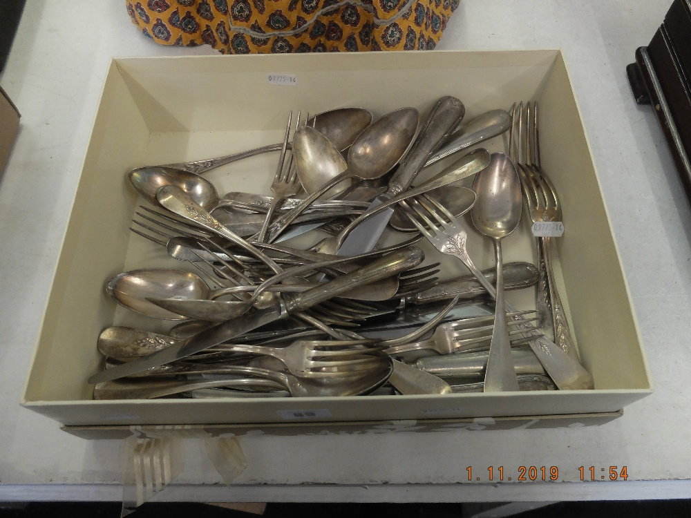 Lot 91 - An Armand Frencis part set of French silver plated cutlery