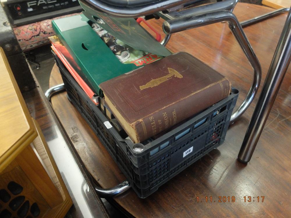 Lot 110 - An assortment of books etc