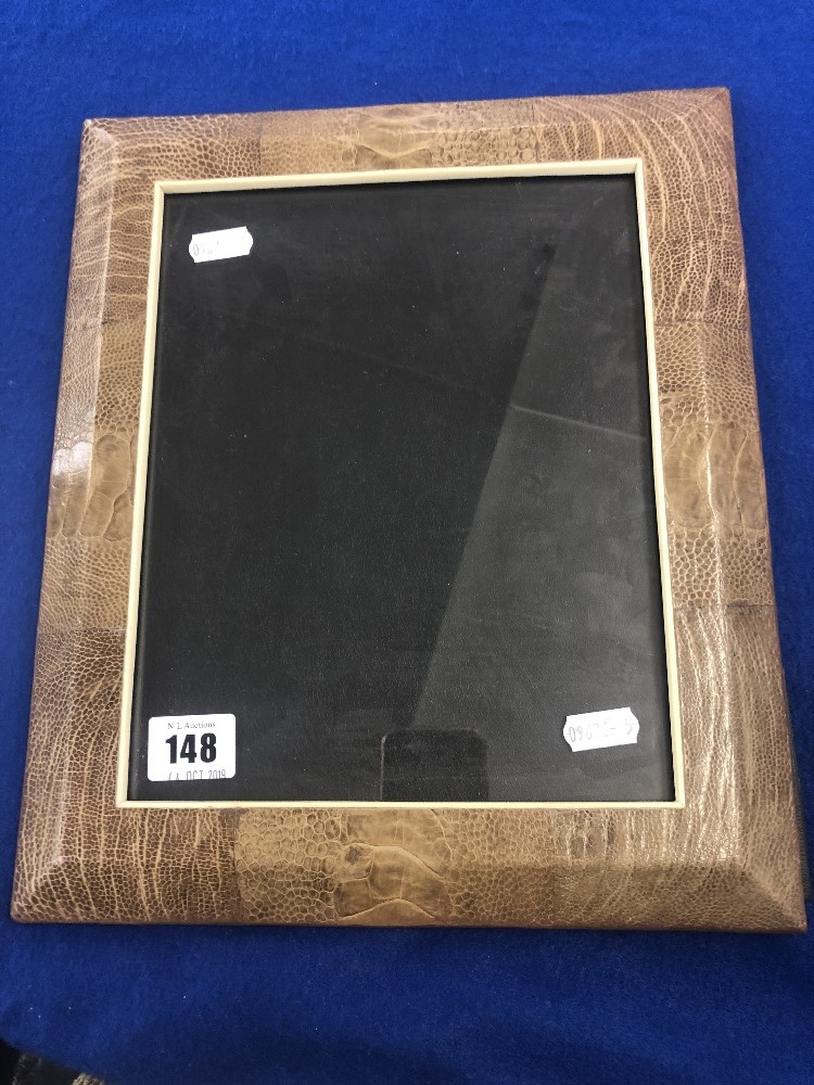 Lot 81 - A R&Y Augosti leather photo frame