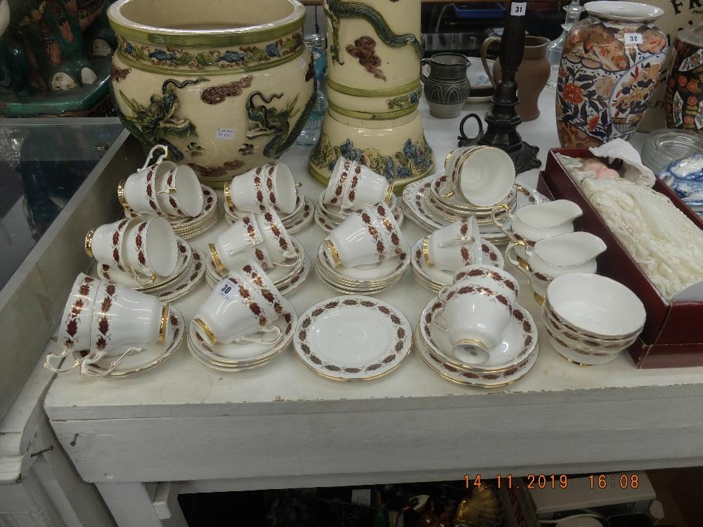 Lot 30 - A Paragon tea set