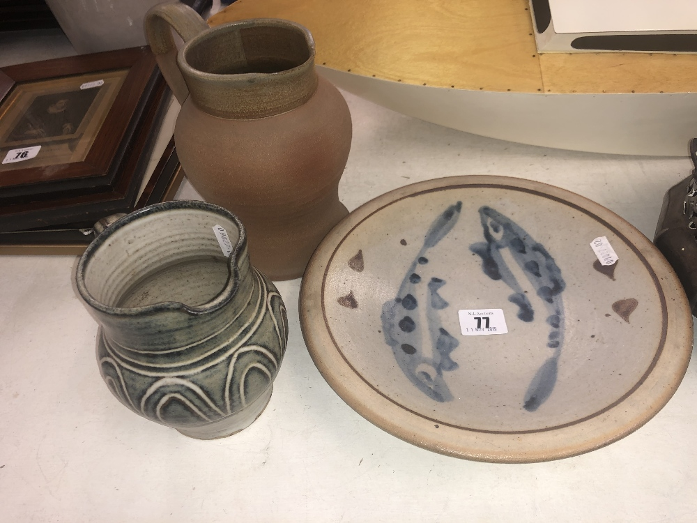 Lot 27 - Four pieces of pottery