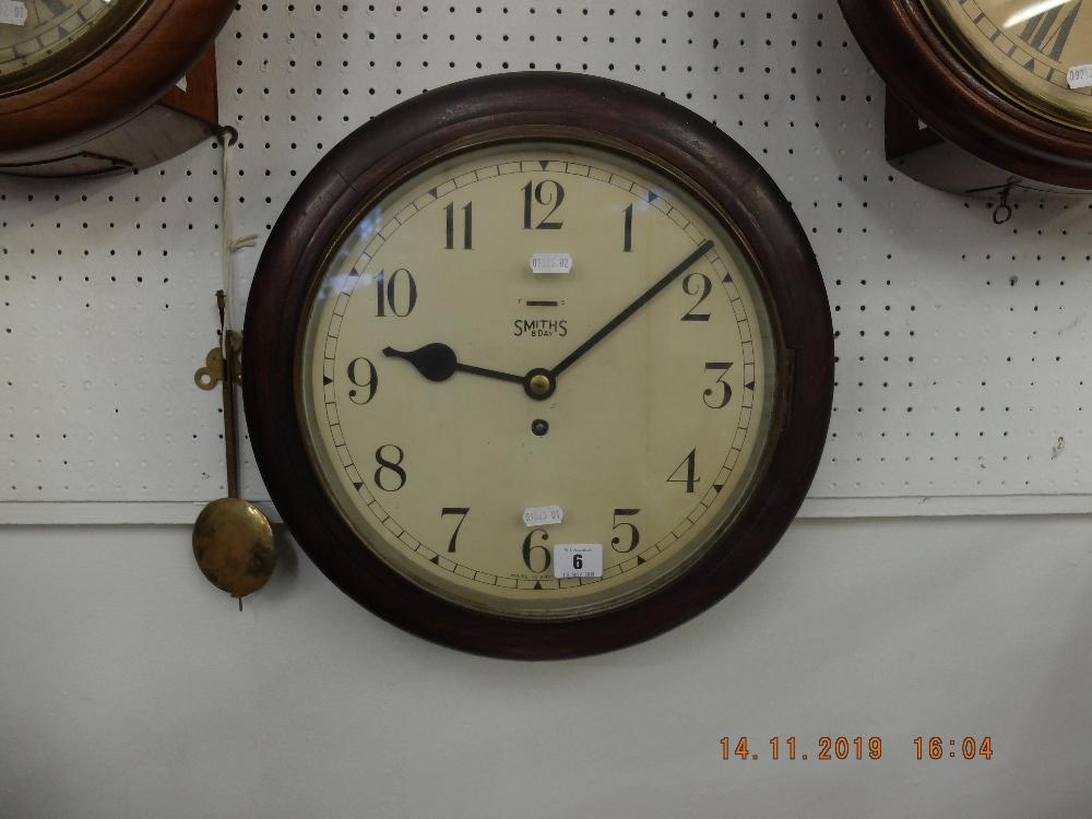Lot 6 - Smiths station clock
