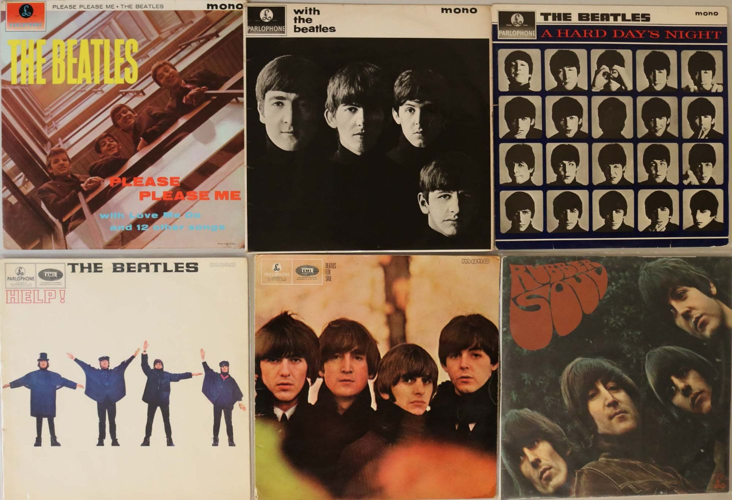 The Beatles Collection: Memorabilia & Vinyl Records