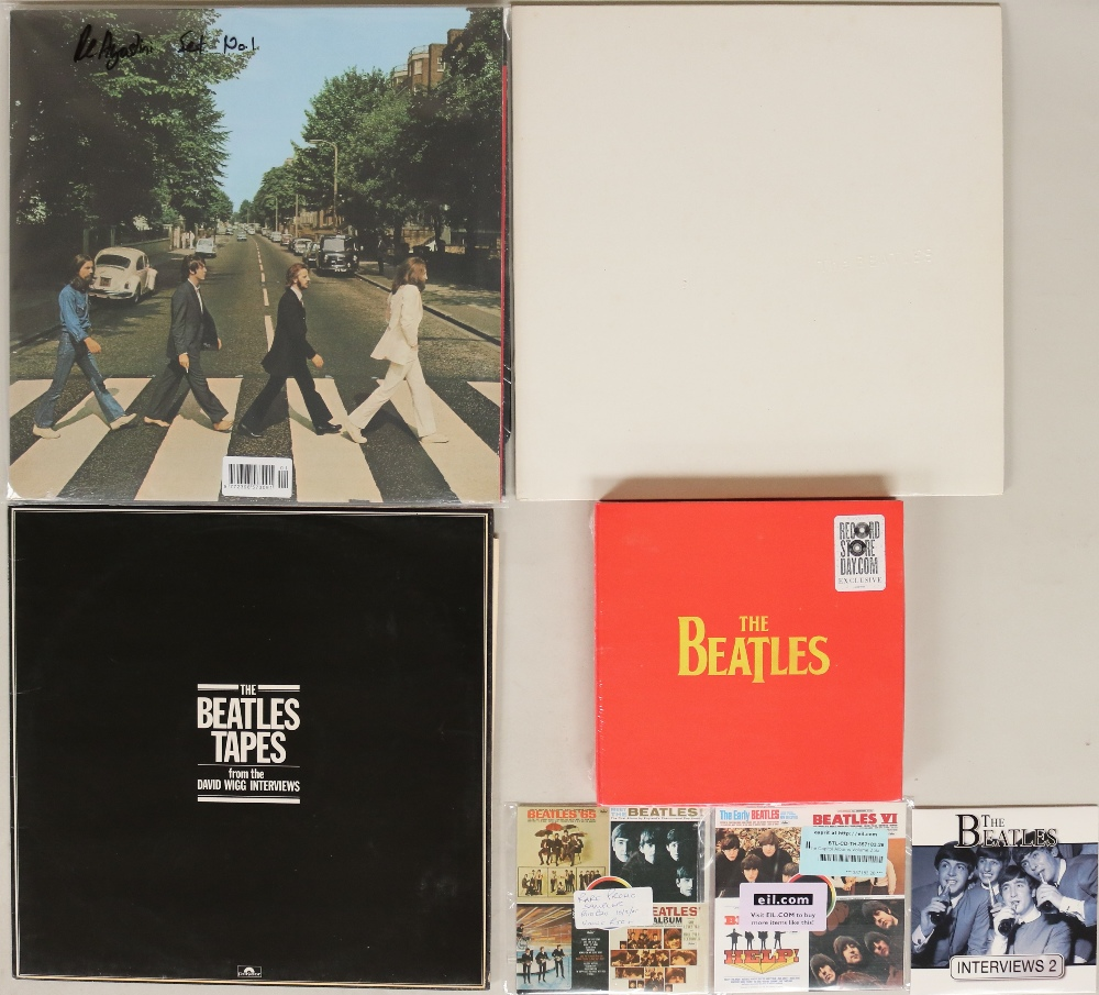 """Lot 55 - REISSUES/RECENT ISSUE LPs. High quality collection of 3 x 7"""", 1 x 7"""" box set, 3 x LPs and 3 x CDs."""