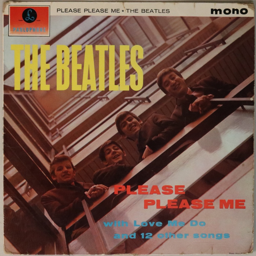 Lot 2 - PLEASE PLEASE ME - 1ST UK 'BLACK AND GOLD' MONO LP (PMC 1202).