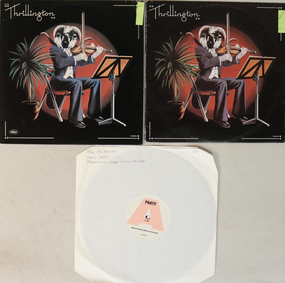 """Lot 11 - PAUL MCCARTNEY - LP/12"""" PROMO RARITIES."""