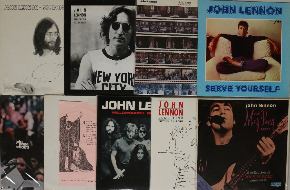 Lot 53 - MCCARTNEY/LENNON - PRIVATE RELEASE LPs. Fab collection of 17 x (mainly) LPs.