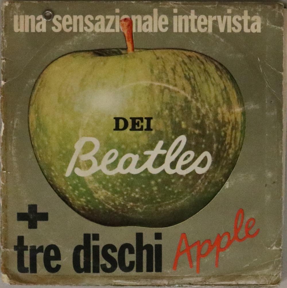 "Lot 47 - UNA SENSAZIONALE INTERVISTA DEI BEATLES - ITALIAN PROMO 7"" SET (DPR 108, APPLE 2/3/5)."