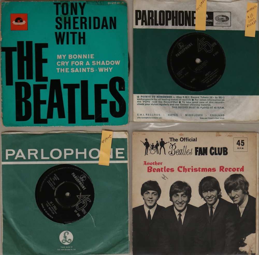"""Lot 45 - 7"""" RARITIES/WITH FLEXI. Ace pack of 3 x 7"""" with 1 x Christmas flexi."""