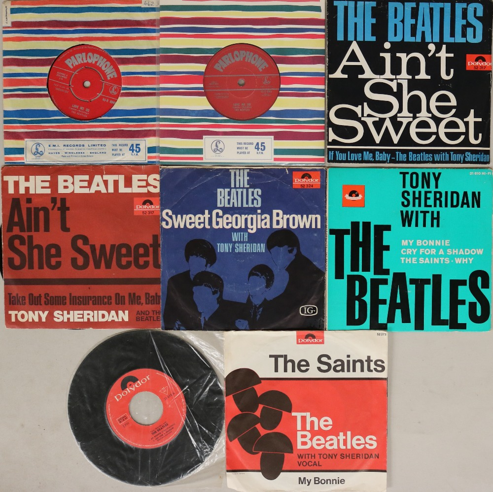 "Lot 50 - EARLY 7"" TITLES. Great pack of 8 x 7"", all early title releases."
